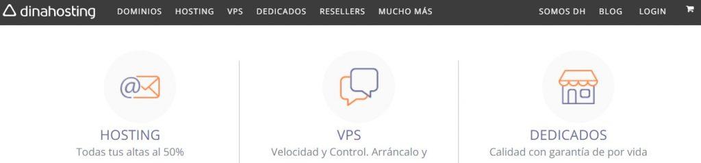 hosting web servicios