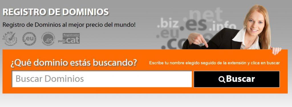 abansys cuenta con un servicio de registro de dominios muy eficaz.