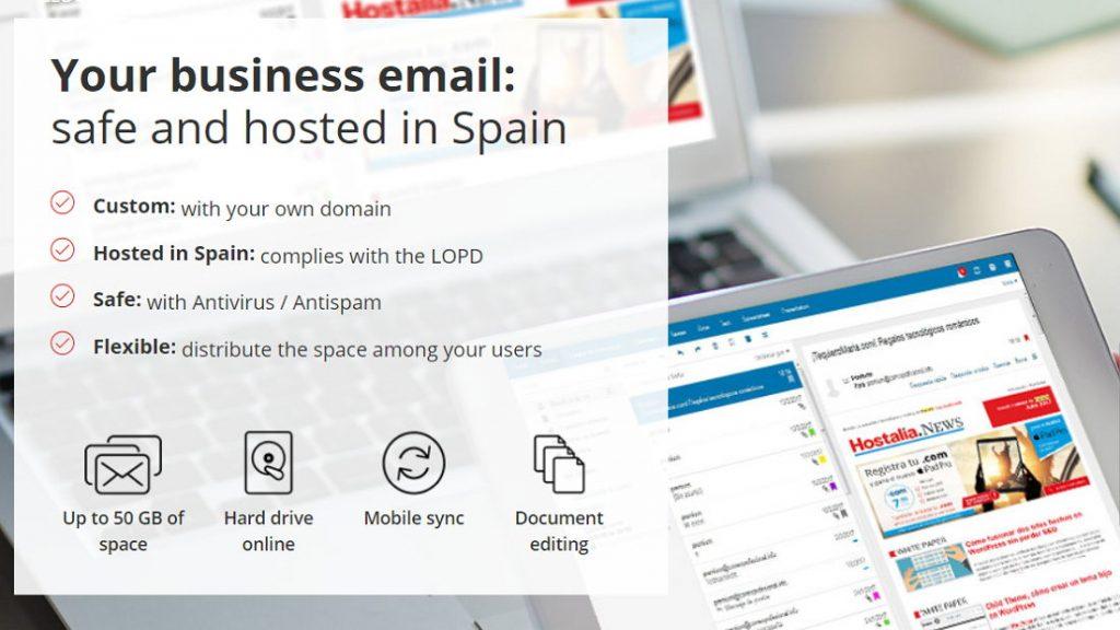 correo electronico hosting