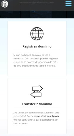 Registrar un dominio en Raiolanetworks es sencillo y cuentas con soporte para hacerlo.