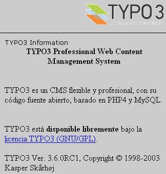 Contratar un Hosting para Typo3 es beneficioso ya que, es un servicio individual para vuestro proyecto