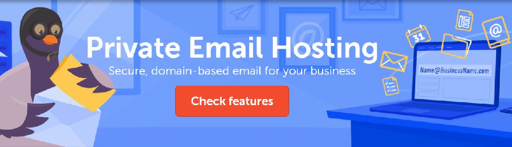 Namecheap ofrece varios planes de webmail con muy buenas prestaciones