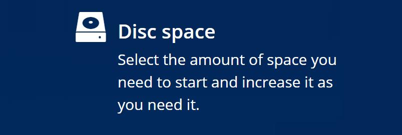 El almacenamiento es una característica disponible en los planes de servidor compartido en los diferentes proveedores que debe ser tomada siempre en cuenta, debido a su importancia