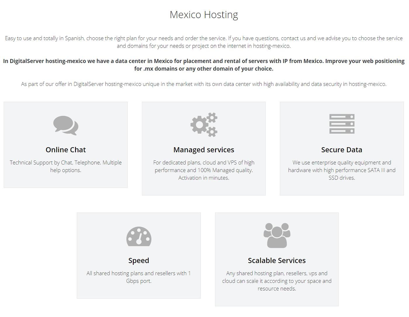 DigitalServer es un proveedor de servicios web mexicano, ofrece confianza, precio accesible y un soporte técnico con una disponibilidad óptima 24/7