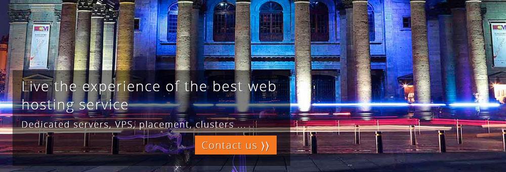 HostDime-México es un servicio de alojamiento para páginas web y realizar un sitio seguro