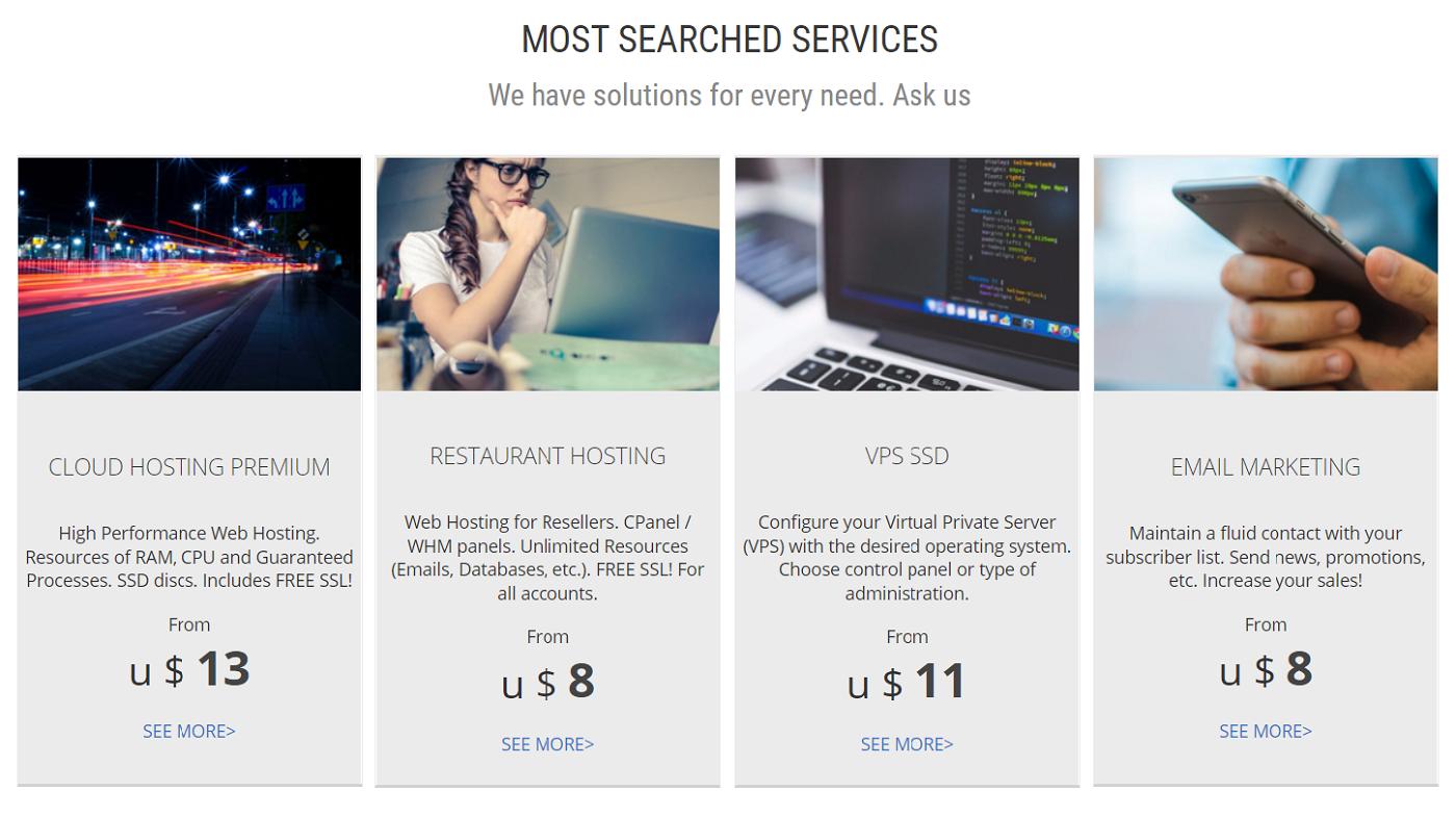 Este hosting, se ha vuelto necesario para el alojamiento de todas las páginas web en el internet