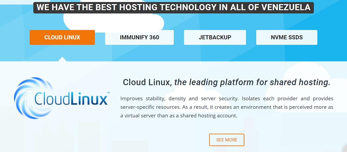 Servicios Hosting es uno de los mejores proveedores de servicios web venezolano