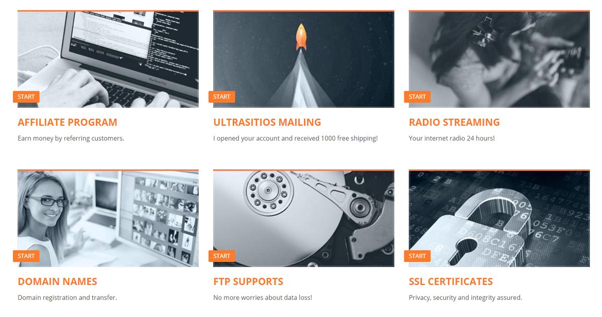 Ultrasitios es una empresa dedicada a brindar servicios web de alta calidad