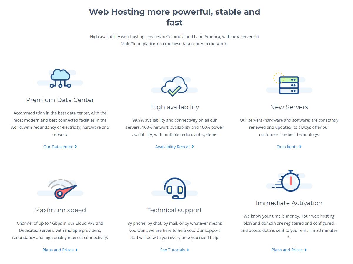 Wink Hosting es un proveedor de hosting de Colombia que presta un servicio excelente con el mejor funcionamiento
