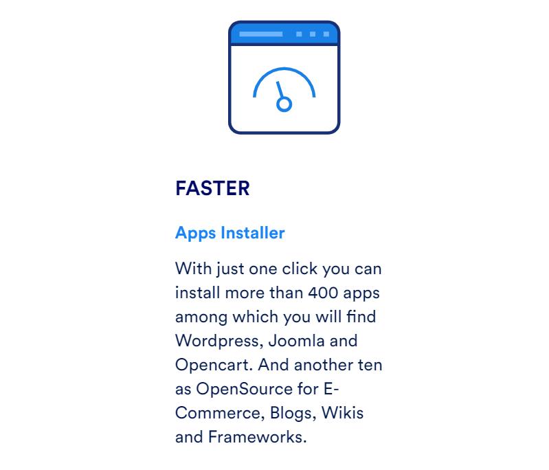 Este proveedor en cuanto a las aplicaciones dispone de las mejores con el mejor funcionamiento y alojamiento