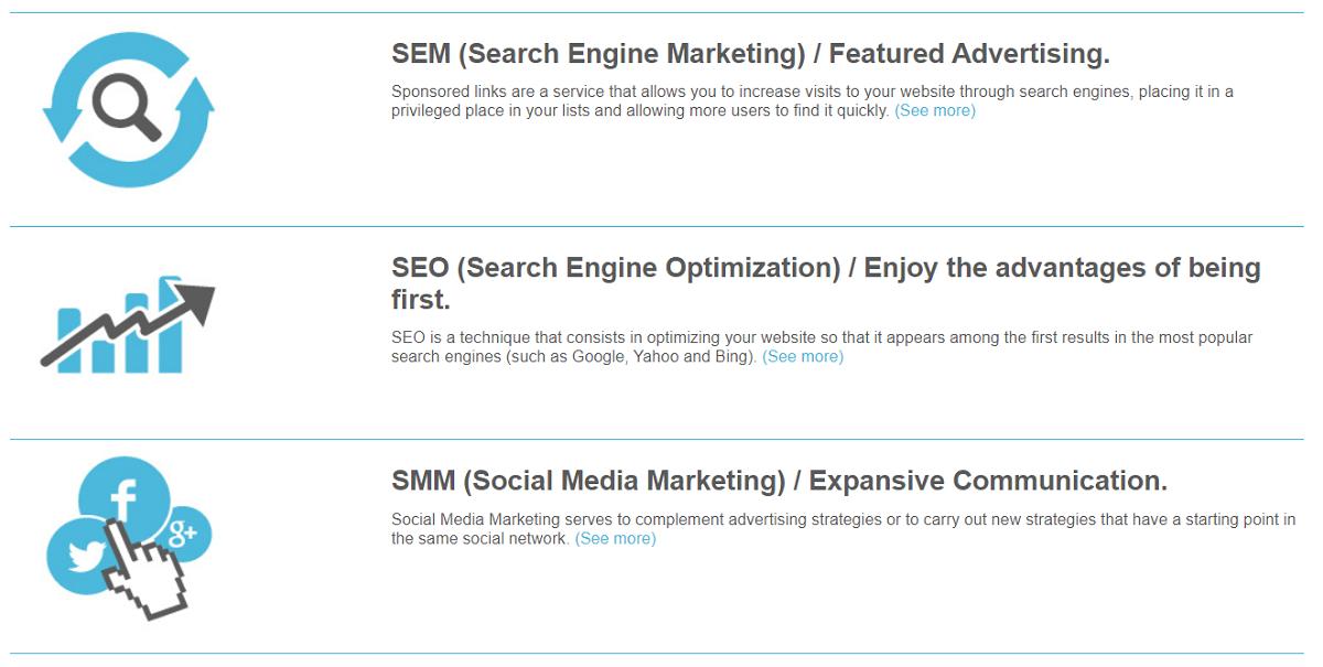 Com.ar cuenta con una gran variedad de aplicaciones que son de gran utilidad para que vuestro proyecto web sea más creativo