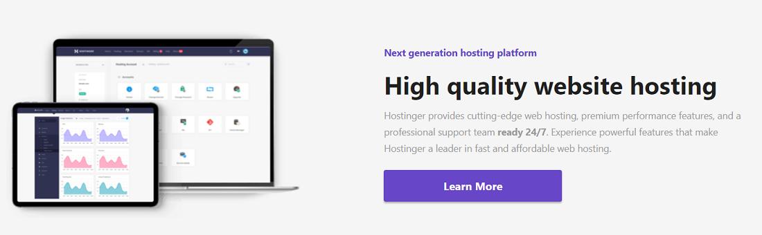 Contratar un proveedor de alojamiento como Hostinger os garantiza ciertos beneficios a la hora de crear una web