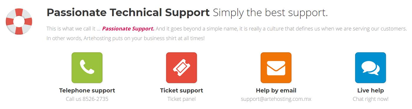 La calidad del soporte técnico es una característica que siempre debe ser tenida en cuenta