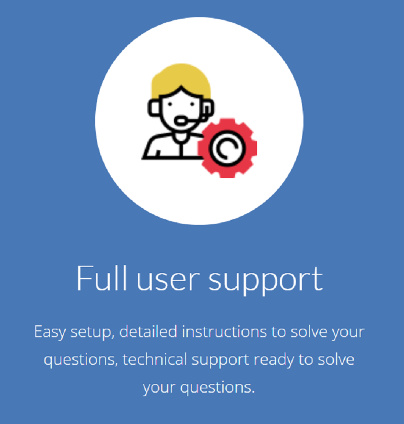 El soporte técnico es importante en todo proveedor de servicios web ya que mediante este servicio de soporte los usuarios podrán recibir asistencia técnica