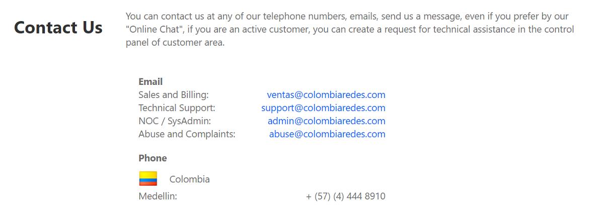 Colombia Redes se destaca por ofrecer calidad y atención en el trato a todos los usuarios