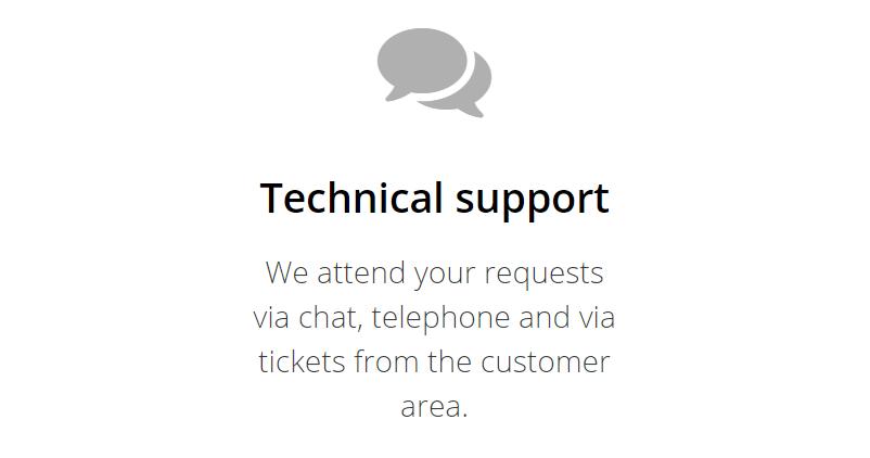 El soporte técnico es una característica fundamental en todo proveedor de servicios que desees contratar