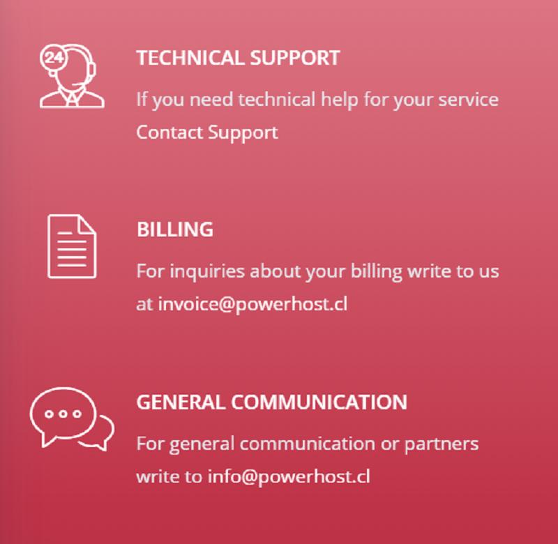 El soporte técnico es muy importante en cualquier servicio de alojamiento