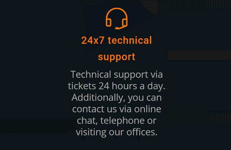 El servicio técnico es fundamental en todos los proveedores de servicios web disponibles en la red