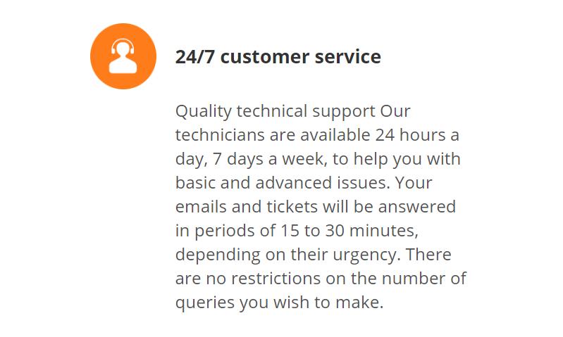 La calidad del soporte técnico es una característica que siempre debe ser tomada en cuenta