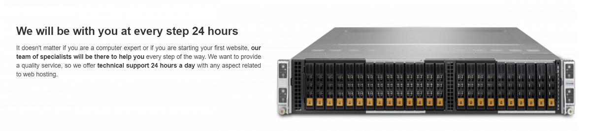 Hostname hosting ofrece un producto de calidad por lo que no tendrás problemas durante su funcionamiento