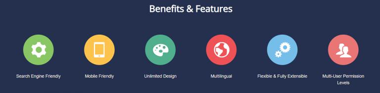 joomla características relevantes para el hosting