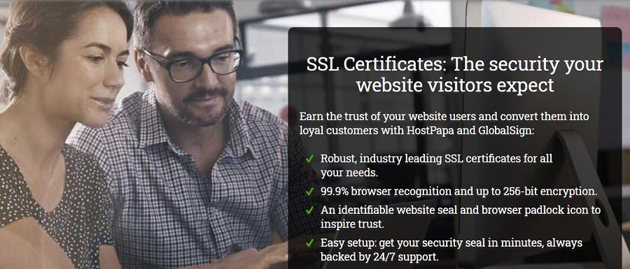 Todos los planes ofrecen este certificado de manera gratuita a cualquier dominio que sea alojado en Lunarpages