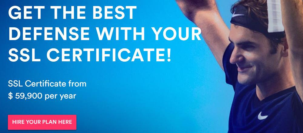 Blue hosting ofrece un servicio de certificado SSL para asegurar todas las webs que tengas alojadas