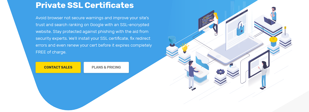 El certificado de SSL os dará múltiples beneficios en sus sitios web