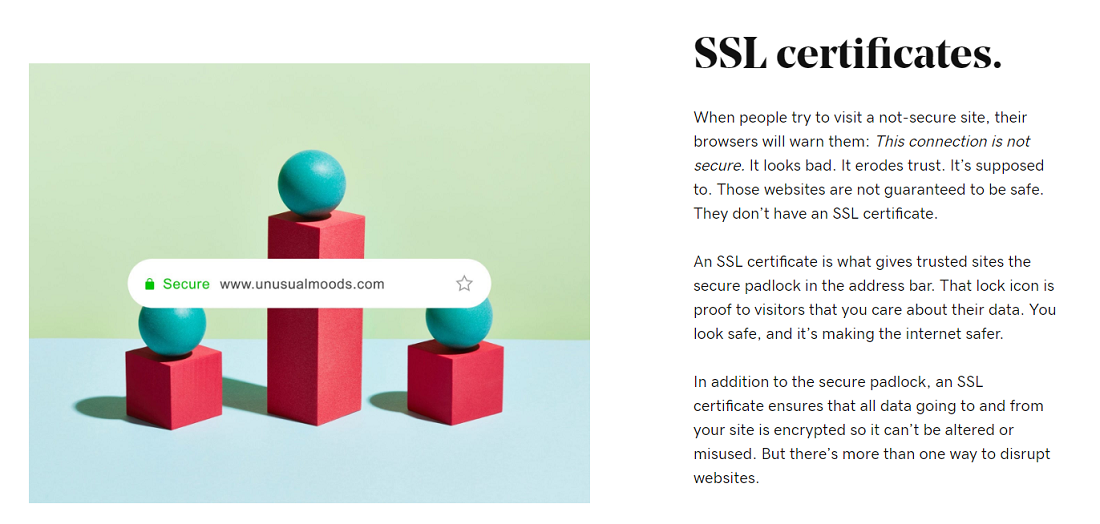Los planes más baratos de GoDaddy no ofrecen certificado SSL gratuito