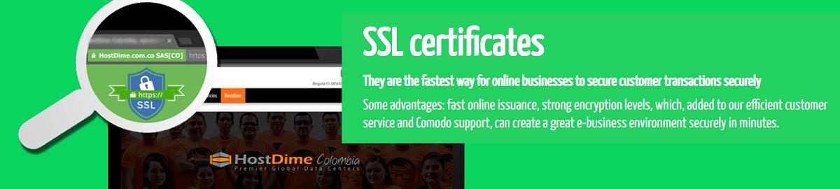 Aquí el proveedor falla un poco, los certificados SSL son un servicio totalmente aparte del hosting