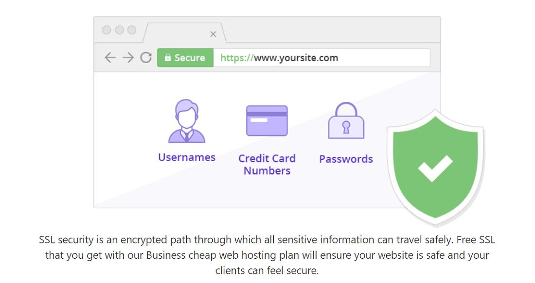 Hostinger os ofrece certificado SSL en el plan empresarial, lo que es bastante beneficioso