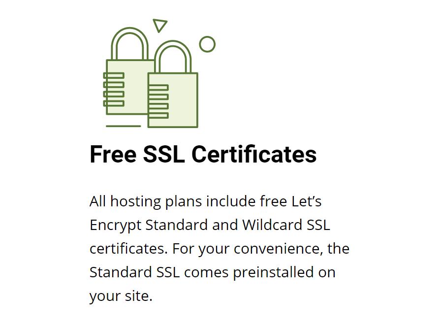 Los certificados SSL es un punto donde Siteground es muy generoso con sus usuarios