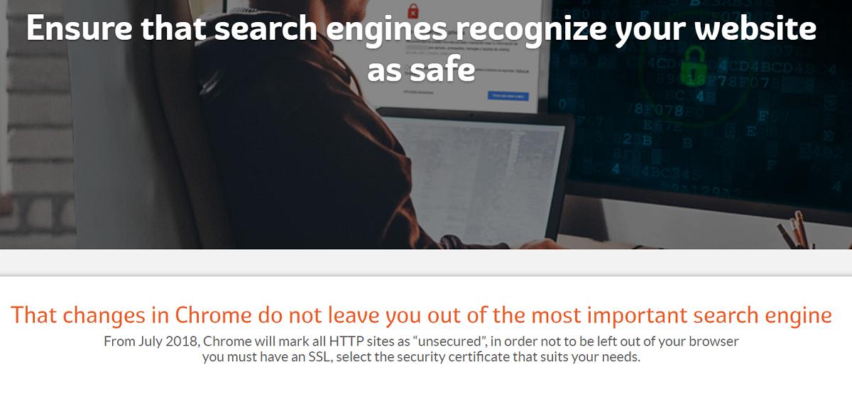 El certificado SSL es importante al igual que todas las características que les mostramos acerca de Su Empresa en este apartado