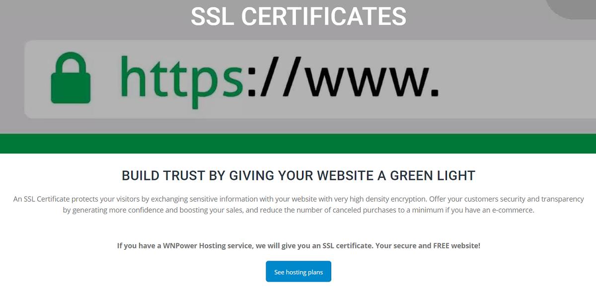Un Certificado SSL protege a sus visitantes en el intercambio de datos sensibles con su sitio web con un cifrado de elevada densidad