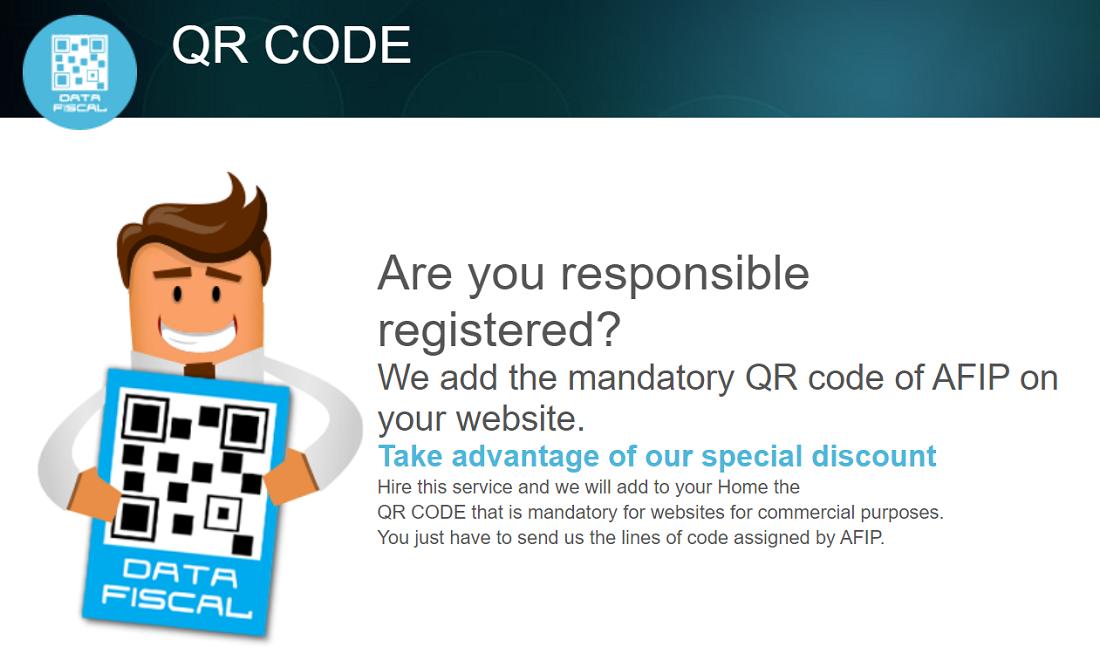 Com.ar hosting ofrece un servicio especial en la actualidad y requerida para todos los proyectos web, para el buen funcionamiento, se trata de un código QR
