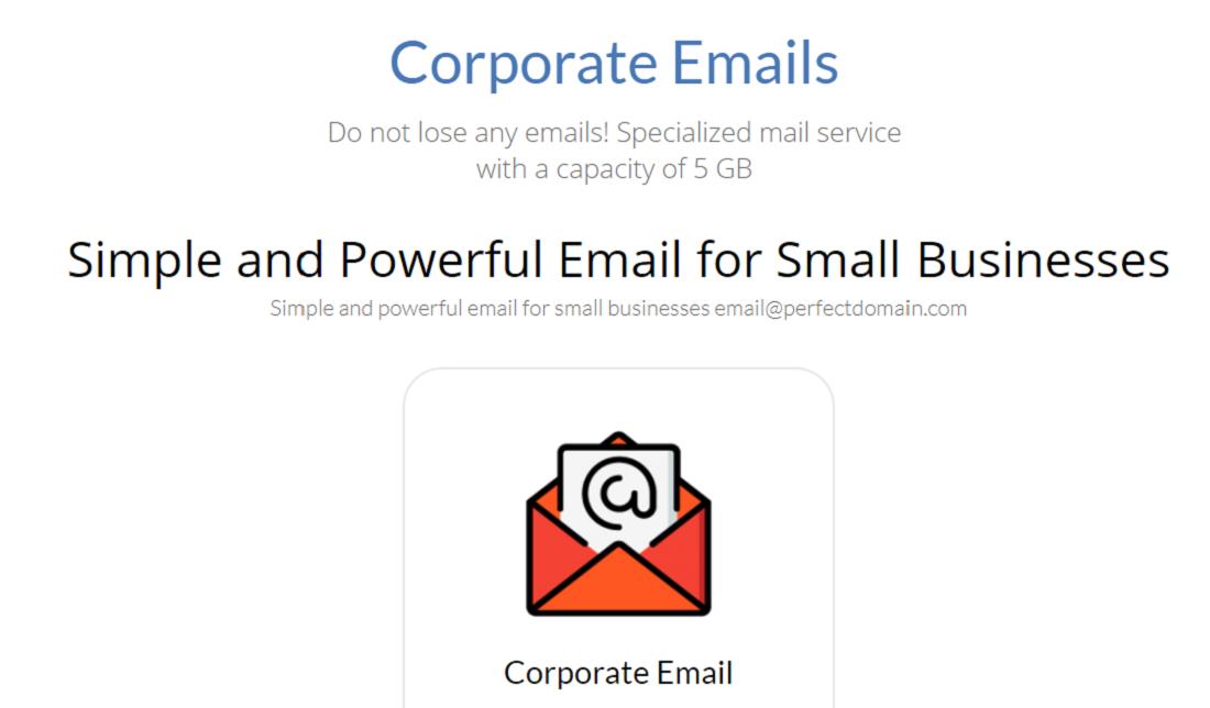 Es fundamental para tener buena presencia en la red un correo electrónico corporativo asociado a tu nombre de dominio, servicio que ofrece Click Panda