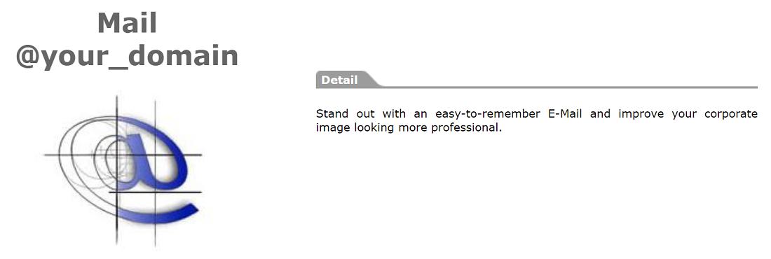 En este proveedor pueden encontrar un buen servicio de webmail disponible en todos sus planes