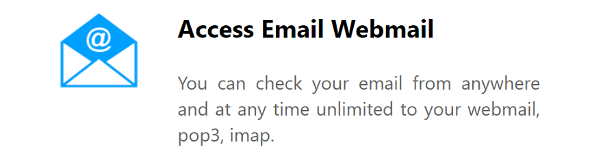 El servicio de correo profesional tiene como función proporcionarle a tu empresa o proyecto seriedad y confiabilidad