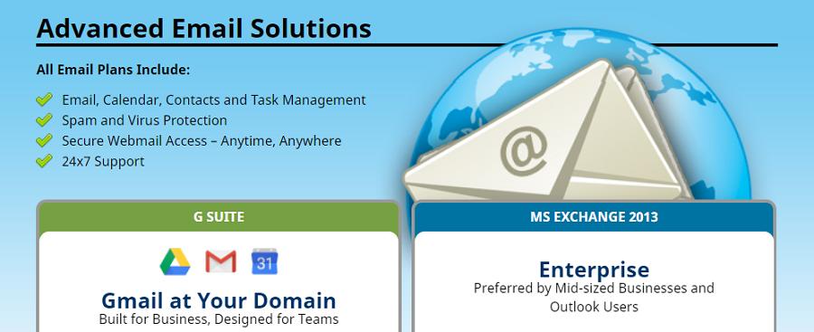 Muchos de los planes de este proveedor os ofrecen servicio de webmail ilimitado