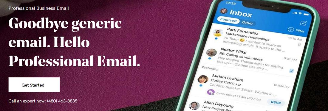 Este proveedor trabaja junto a Microsoft para ofrecer un excelente servicio de webmail