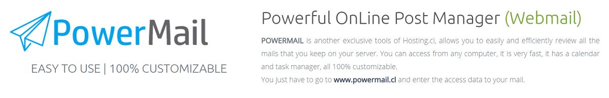 En cuanto al mail, este proveedor es uno de los mejores proveedores que se pueden encontrar