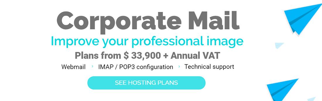 Hostname hosting, en los planes que ofrece garantiza el servicio de Webmail