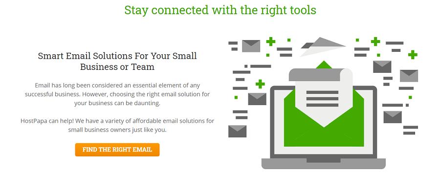 Con Lunarpages podéis tener soluciones inteligentes mediante un correo especial para vuestra empresa o equipo