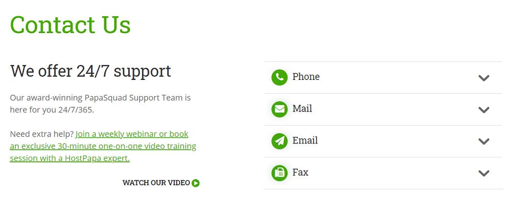 HostPapa os ofrece una guía rápida y bastante eficaz para que podáis usarla en caso de que la necesitéis