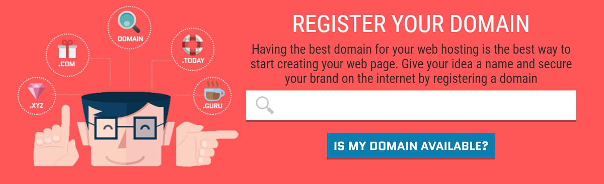 Con este proveedor de hosting tienes dos opciones para registrar un dominio
