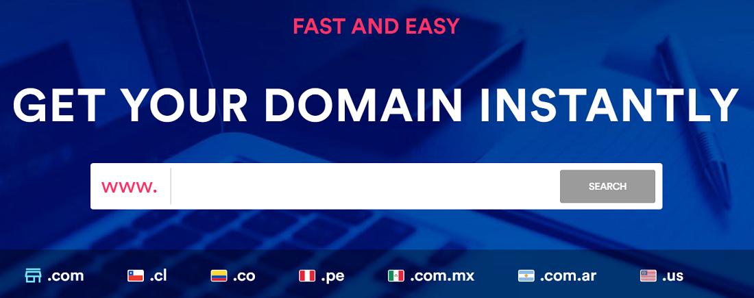 Este proveedor ofrece dominios gratis y de pago siendo estos lo que tienen más creatividad y posicionamiento en el mercado