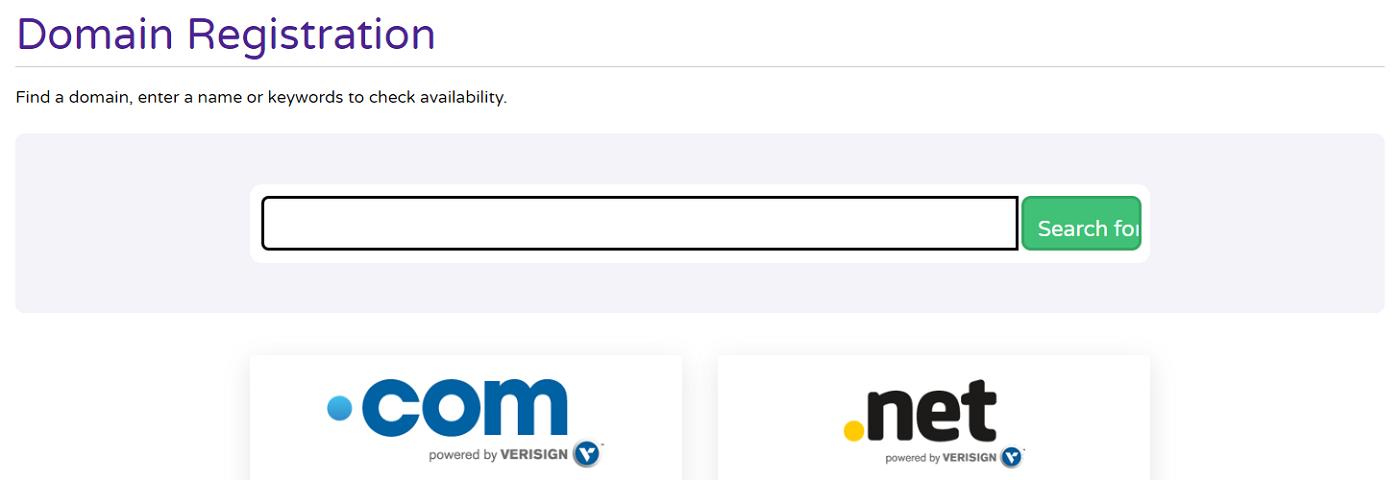 Dongee ofrece el servicio de registro de dominios a un precio bastante en la media de la competencia