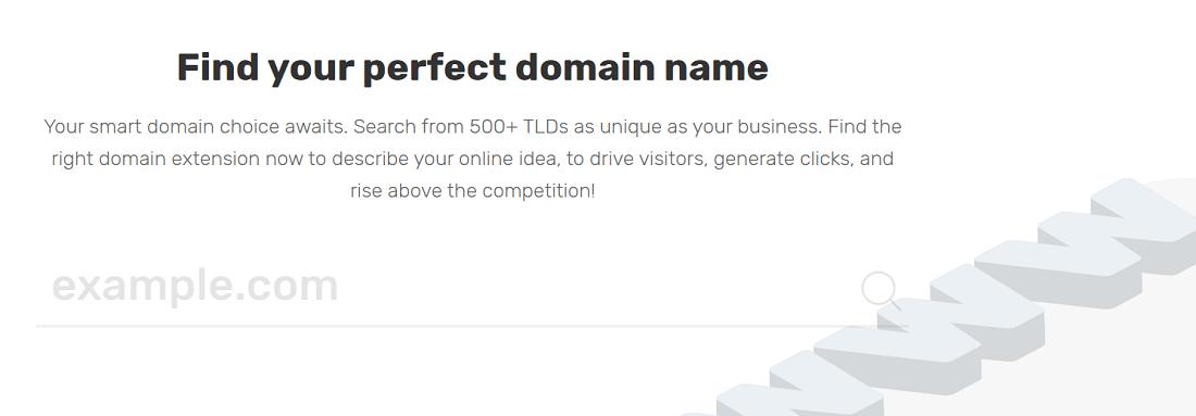 La variedad en los nombres de dominio disponibles son de utilidad en caso de que queráis optimizar vuestro dominio