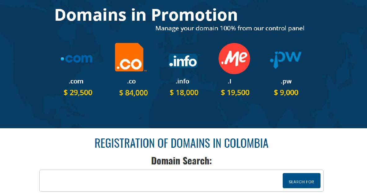 Este proveedor regala un dominio para su proyecto online al suscribir un plan por un año o por lapso mayor