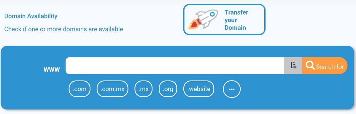 El dominio es un nombre único y exclusivo que identifica a una página web en Internet